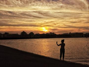 【NEX样张】暮色夕阳