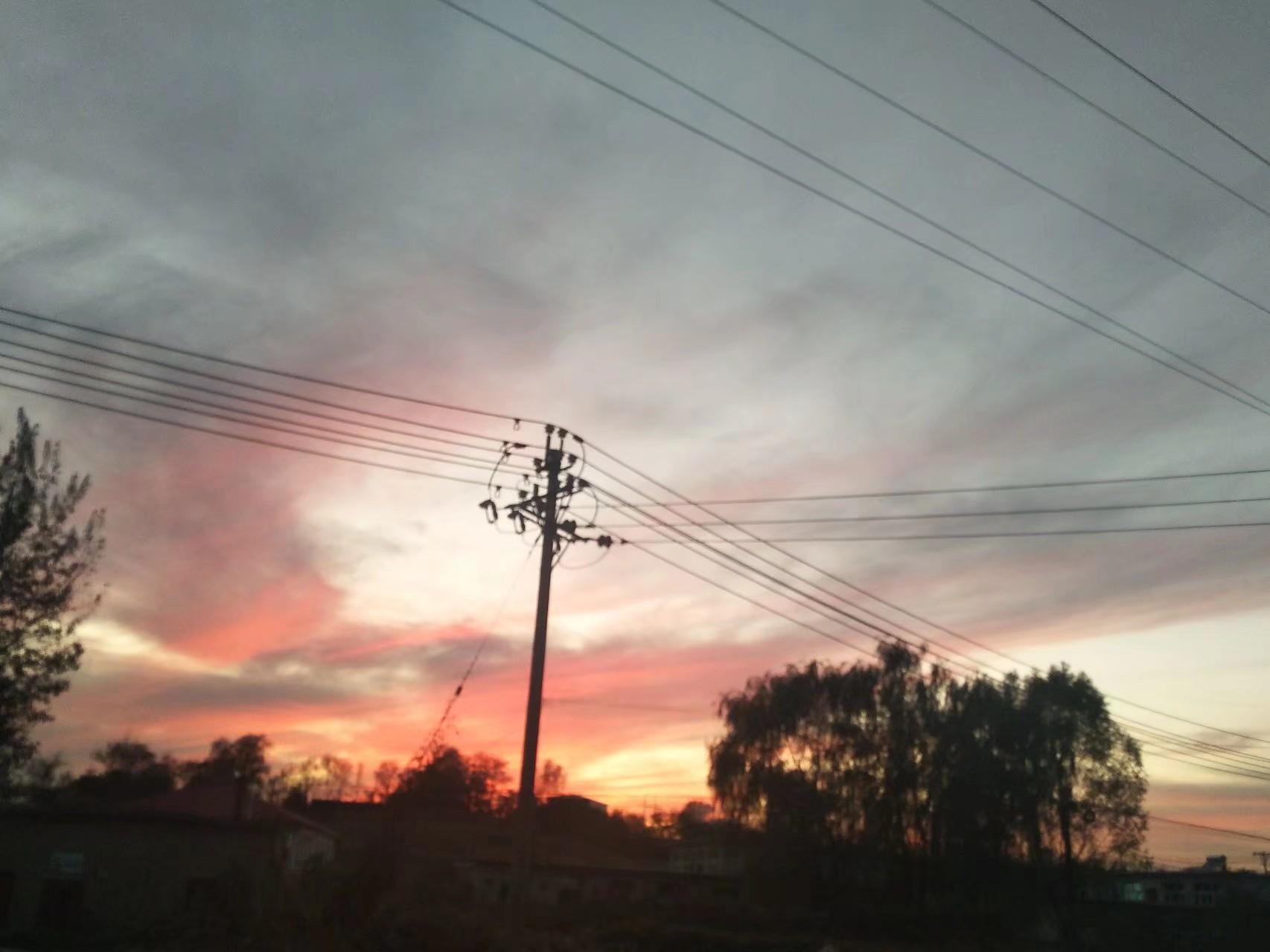 【vivoX9】拍摄—落日余晖