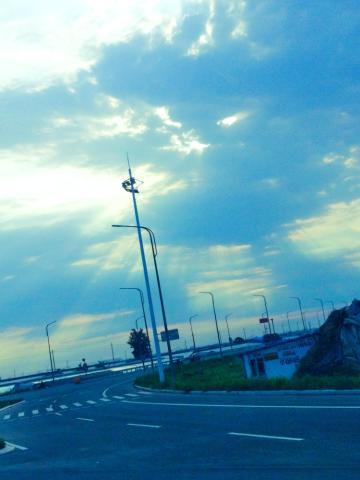 乌云背后的阳光