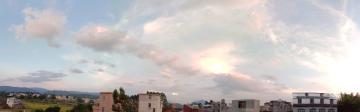 家乡美丽的黄昏