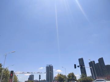 我看过的蓝天