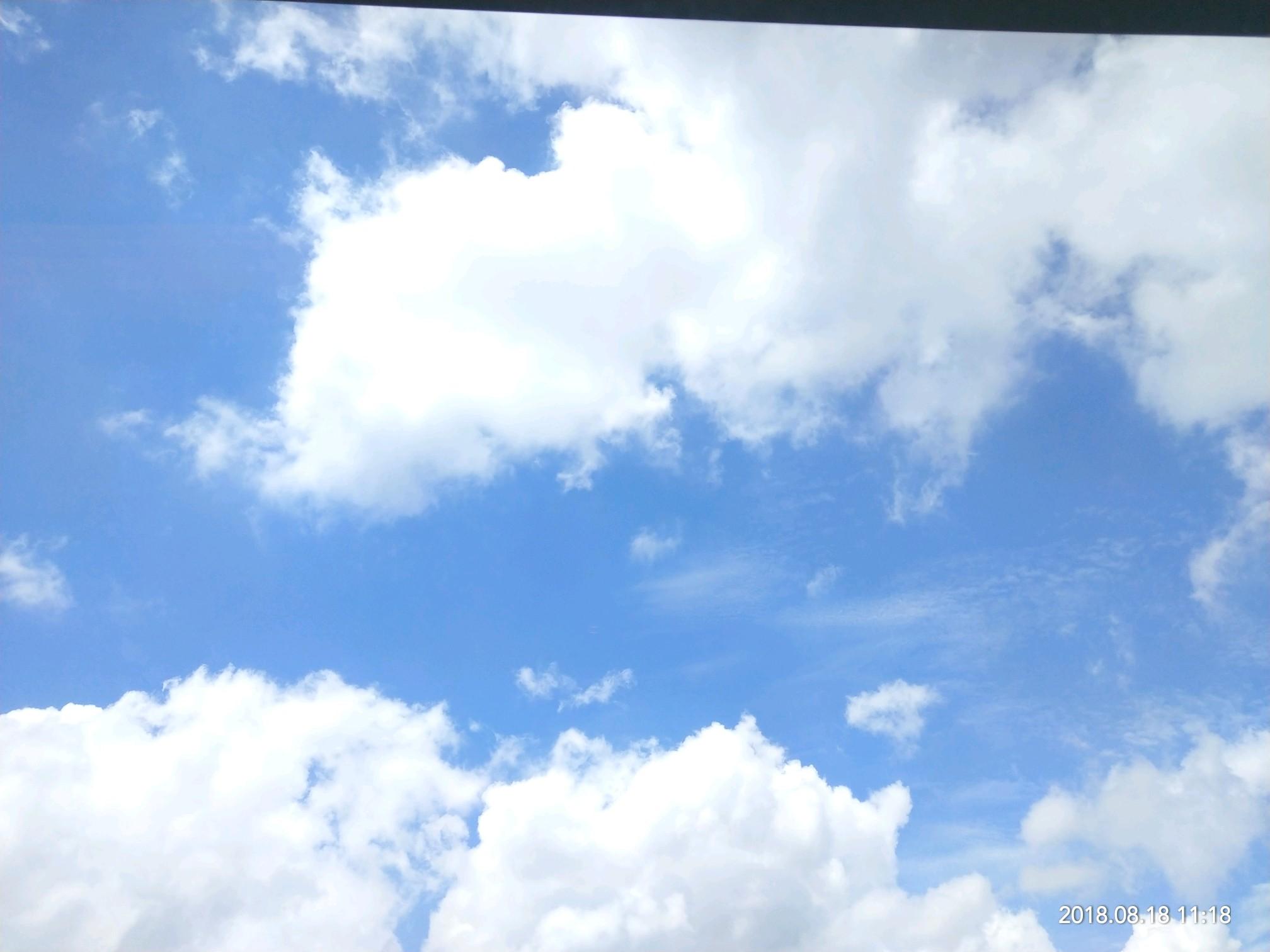 今天天气不错