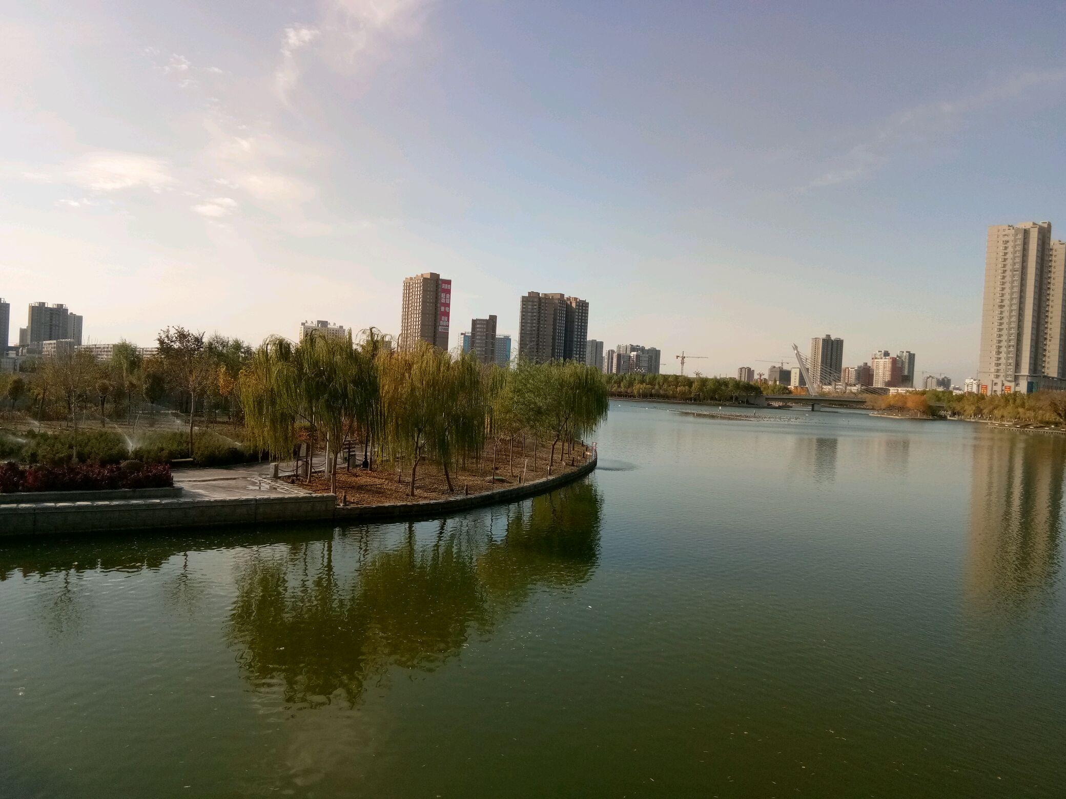 【秋】孔雀河之秋日