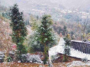 【x23】山村的雪