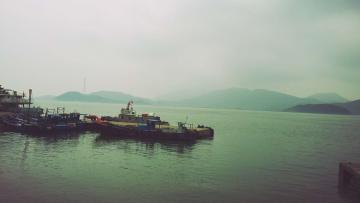 冬日里的码头