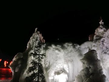 【y85A】渭水源夜景