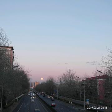 春分喜见超级月亮