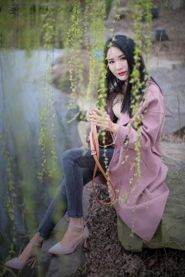 【x27】春色撩人,人像小姐姐吴媛