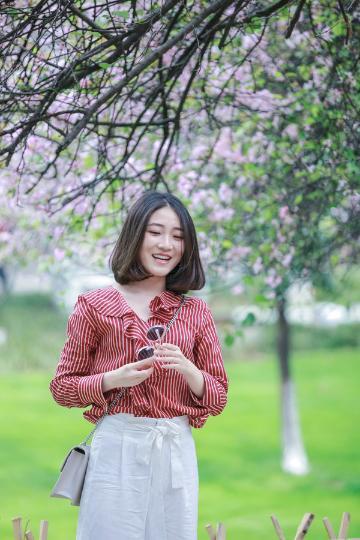 【寻春】人像    四月四个温柔的季节
