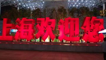 上海的夜景