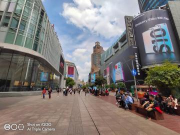 iqoo~上海南京路街拍