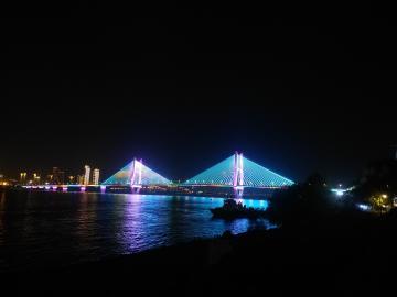 武汉二桥夜景