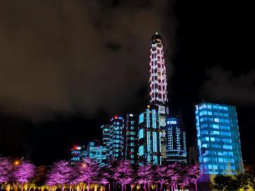 深圳的灯光秀,美不美