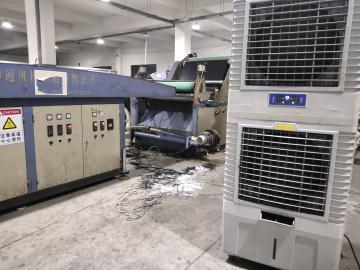 机器加热110度,这夏天怎么干活啊