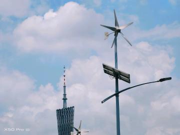 #试试X50#记录不同角度下的广州塔,用vivo X50 Pro足矣