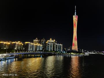 #试试X50#广州-广州塔夜景随手拍