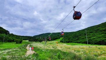 【iQOO Neo3】吉林松花湖滑雪场夏季风